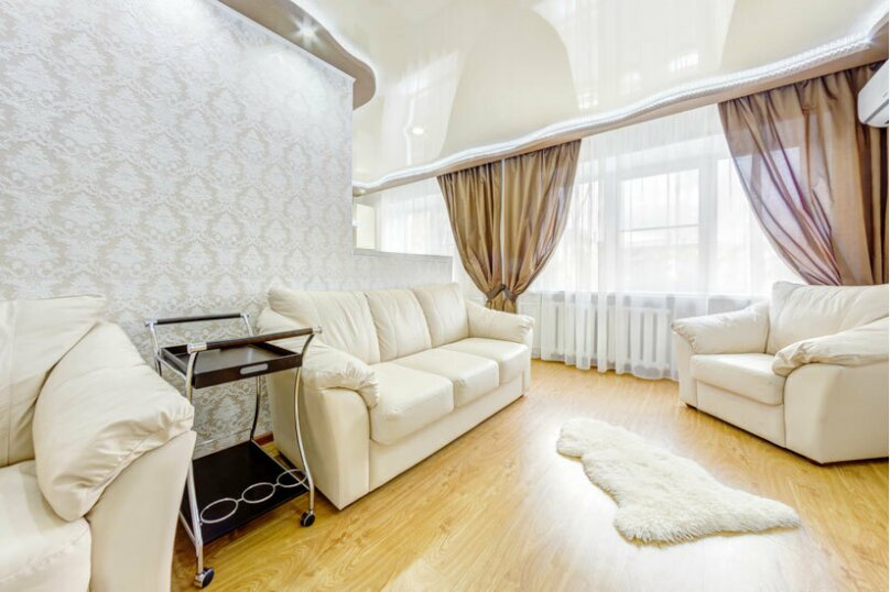 2-комн. квартира, 50 кв.м. на 3 человека, проспект Ленина, 21, Челябинск - Фотография 3