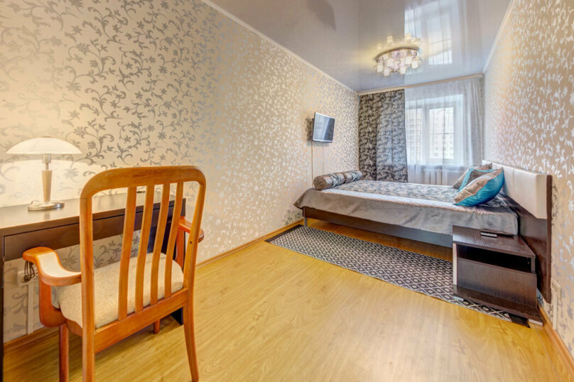 2-комн. квартира, 50 кв.м. на 3 человека, проспект Ленина, 21, Челябинск - Фотография 5