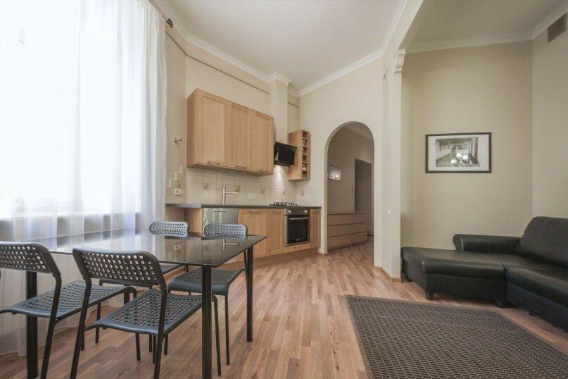 3-комн. квартира, 74 кв.м. на 6 человек, улица Восстания, 3, Санкт-Петербург - Фотография 2