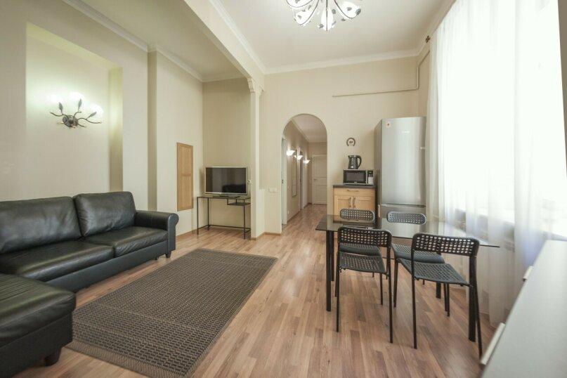 3-комн. квартира, 74 кв.м. на 6 человек, улица Восстания, 3, Санкт-Петербург - Фотография 3