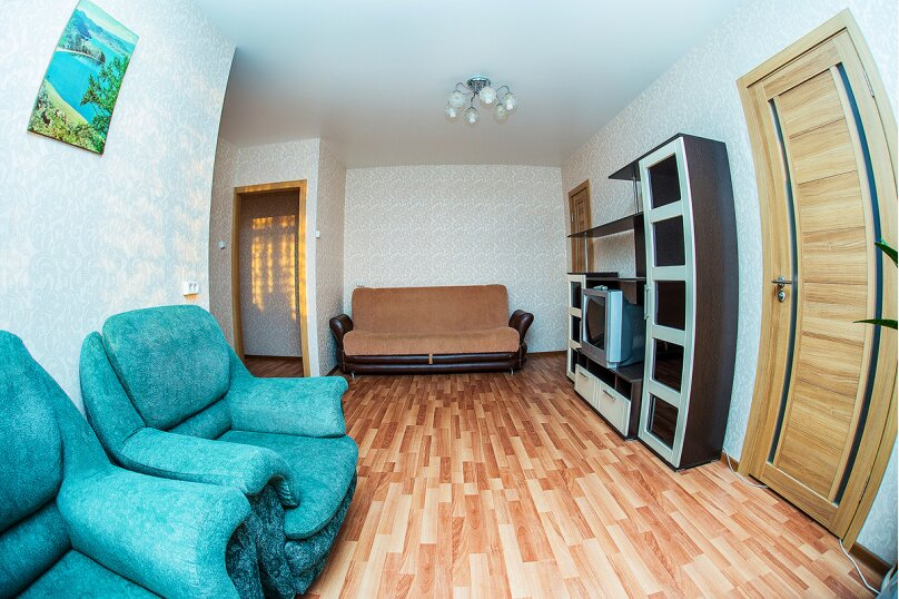 2-комн. квартира, 51 кв.м. на 4 человека, проспект Карла Маркса, 19, метро Площадь Маркса, Новосибирск - Фотография 9