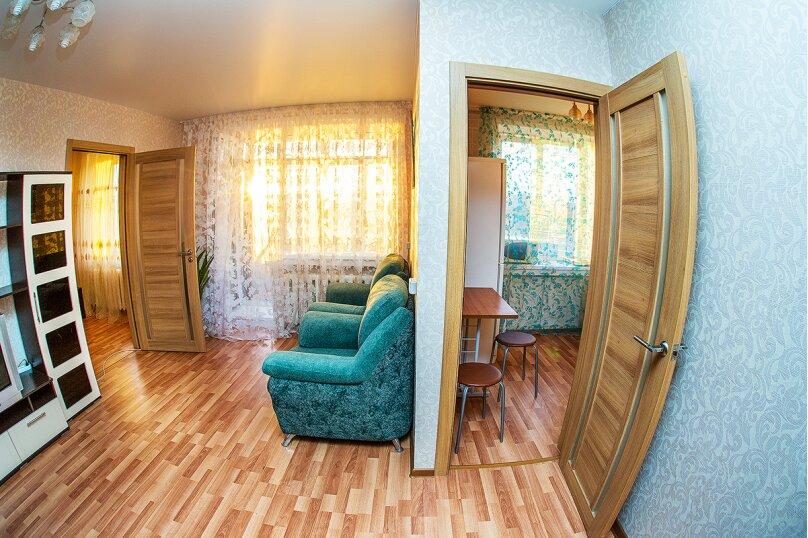 2-комн. квартира, 51 кв.м. на 4 человека, проспект Карла Маркса, 19, метро Площадь Маркса, Новосибирск - Фотография 1
