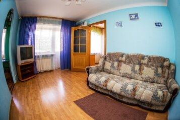 2-комн. квартира, 55 кв.м. на 5 человек, проспект Карла Маркса, 10, Площадь Маркса, Новосибирск - Фотография 2