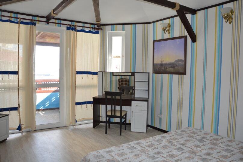 Номер-студия «Корабельный» с балконом (с фрагментарным видом на море), шоссе Дражинского, 2А, Отрадное, Ялта - Фотография 1