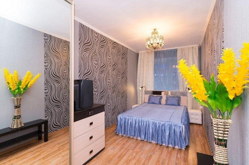 2-комн. квартира, 55 кв.м. на 5 человек, Московская улица, 49, метро Площадь 1905 года, Екатеринбург - Фотография 3