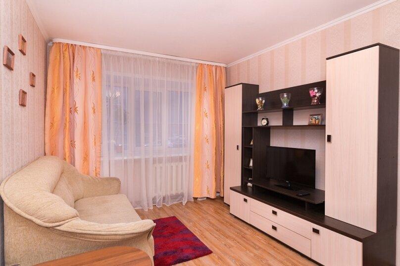 2-комн. квартира, 55 кв.м. на 5 человек, Московская улица, 49, метро Площадь 1905 года, Екатеринбург - Фотография 7