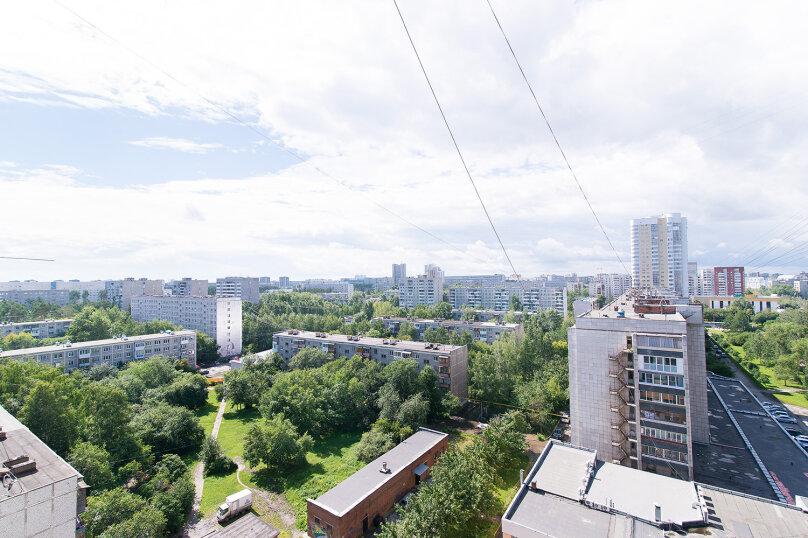 1-комн. квартира, 32 кв.м. на 4 человека, Ясная улица, 30, Екатеринбург - Фотография 12