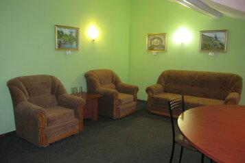 Двухкомнатный люкс:  Номер, Люкс, 3-местный (2 основных + 1 доп), 2-комнатный, Отель, Ленинградское шоссе на 27 номеров - Фотография 4