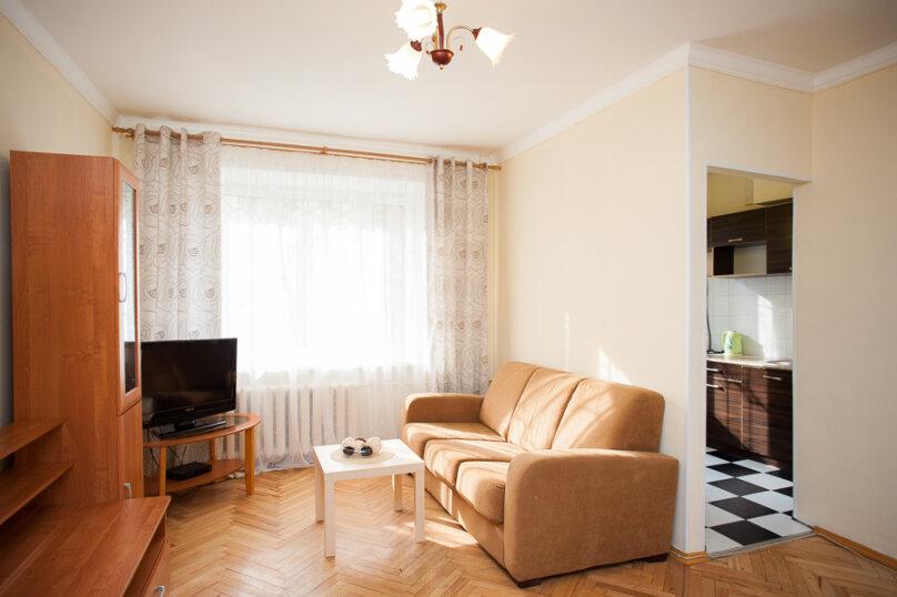 1-комн. квартира, 35 кв.м. на 4 человека, Скаковая улица, 4к2, метро Белорусская, Москва - Фотография 8