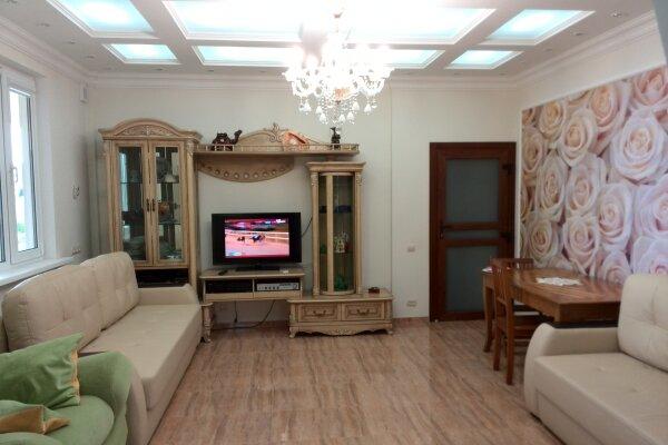 Первый этаж дома, 100 кв.м. на 5 человек, 2 спальни, улица Виткевича, 12а, Кацивели - Фотография 1