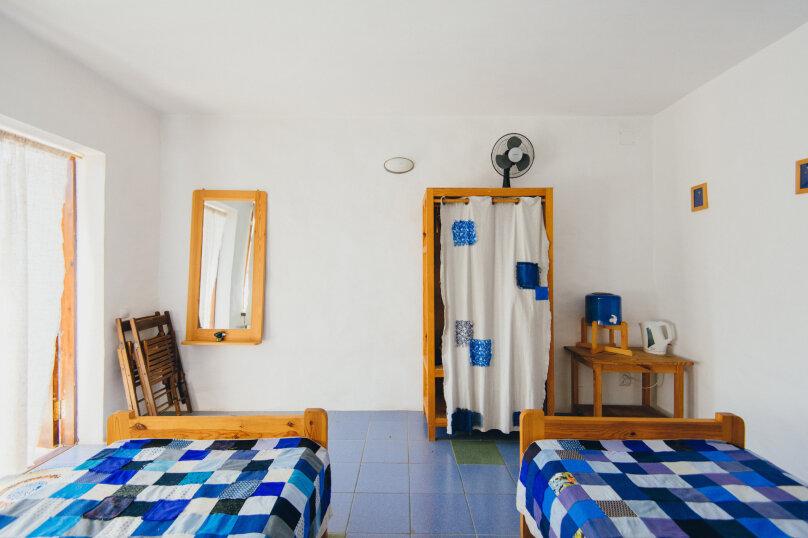 Двухместные номера с двумя раздельными кроватями, улица Блока, 22, Коктебель - Фотография 8