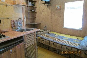Небольшой уютный коттедж на земле, 14 кв.м. на 2 человека, 1 спальня, Комсомольская улица, Евпатория - Фотография 2