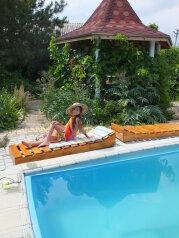 """Дачный дом с бассейном и камином на две семьи, 100 кв.м. на 7 человек, 2 спальни, СТ""""Волна"""", 35, поселок Орджоникидзе, Феодосия - Фотография 1"""