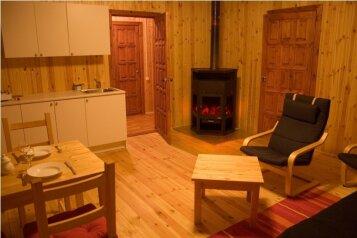 Дом на берегу озера в Карелии, 65 кв.м. на 4 человека, 2 спальни, деревня Кукшегоры, Олонец - Фотография 3