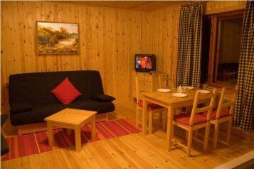 Дом на берегу озера в Карелии, 65 кв.м. на 4 человека, 2 спальни, деревня Кукшегоры, Олонец - Фотография 4