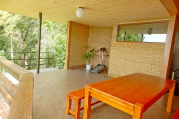 2-х комнатный номер с террасой в коттедже на 5 человек, 1 спальня, Парковый спуск, 32Б, Мисхор - Фотография 3