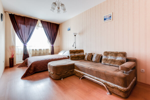 1-комн. квартира, 42 кв.м. на 4 человека, Будапештская, 7, Фрунзенский район, Санкт-Петербург - Фотография 1