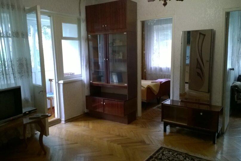 3-комн. квартира, 55 кв.м. на 6 человек, Курская улица, 47, Лазаревское - Фотография 1