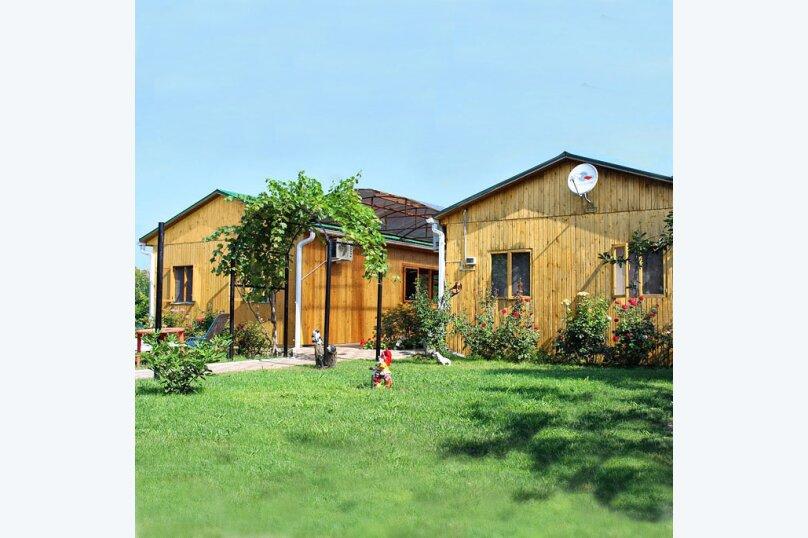 Деревянный коттедж №1, 37 кв.м. на 4 человека, 2 спальни, Приморская улица, 42, Благовещенская - Фотография 1
