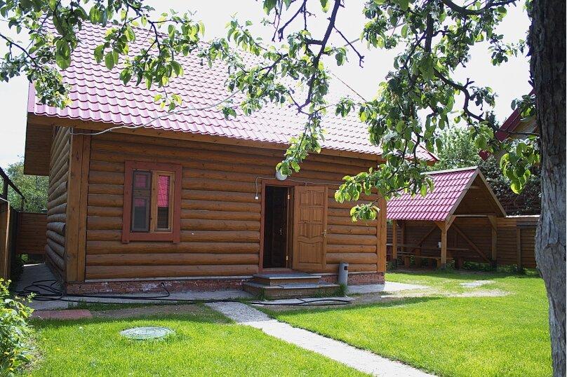 Комфортный коттедж из сруба (№1), 120 кв.м. на 14 человек, 2 спальни, Таежная улица, 2А, Казань - Фотография 3