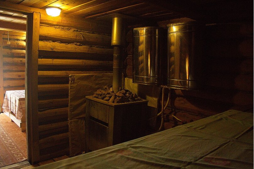 Комфортный коттедж из сруба (№1), 120 кв.м. на 14 человек, 2 спальни, Таежная улица, 2А, Казань - Фотография 19