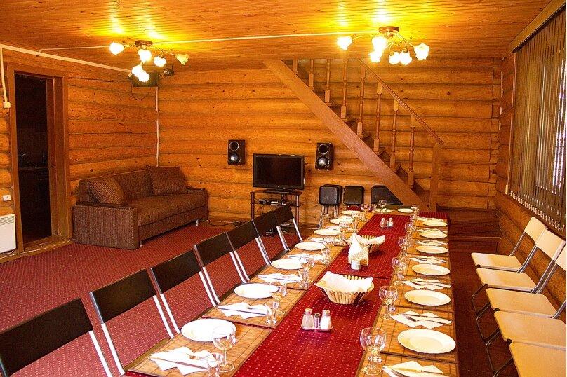 Комфортный коттедж из сруба, 120 кв.м. на 14 человек, 2 спальни, Таежная улица, 2А, Казань - Фотография 7