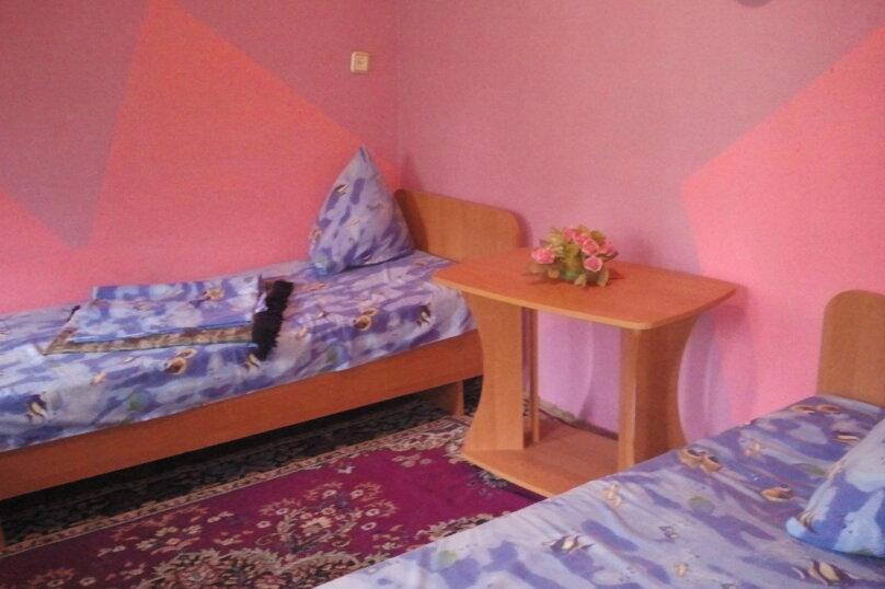 Трехместный номер розовая, улица Федько, 19, Динамо, Феодосия - Фотография 2
