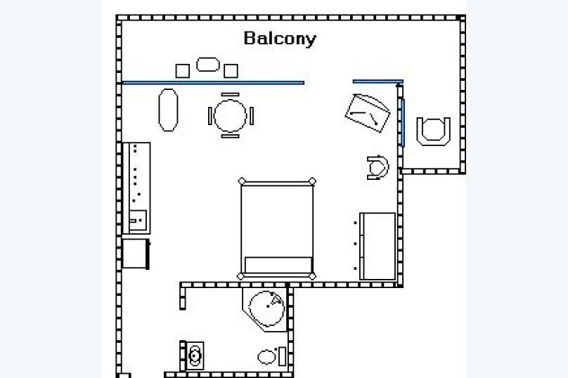 Отдельная комната, улица Дражинского, 7, Ялта - Фотография 6