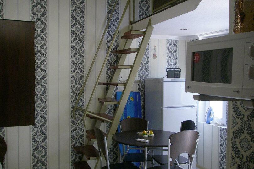 Коттедж для 4-х Однокомнатный в двухуровнях, 30 кв.м. на 4 человека, 1 спальня, улица Руданского, 11, Ялта - Фотография 9