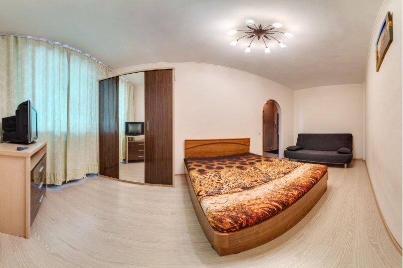 1-комн. квартира, 40 кв.м. на 3 человека, улица Блюхера, 71Б, Новосибирск - Фотография 1