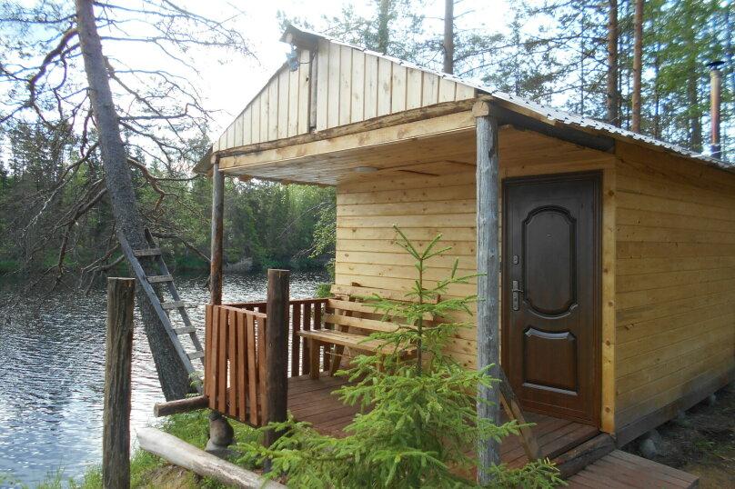 Лесной дом, 52 кв.м. на 6 человек, 2 спальни, Шуясалми, -, Петрозаводск - Фотография 12