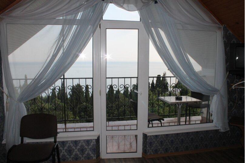 номер видовой двухкомнатный с двумя видовыми балконами с видом на море, Красномаякская улица, 1А, Симеиз - Фотография 1