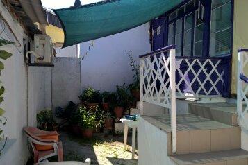 Гостевой домик, 42 кв.м. на 5 человек, 2 спальни, пер. Красноармейский, Евпатория - Фотография 1