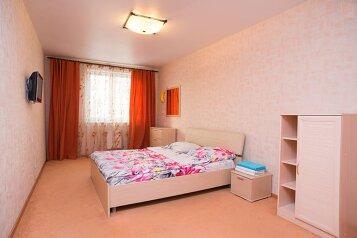 2-комн. квартира, 56 кв.м. на 4 человека, улица Воровского, Советский район, Челябинск - Фотография 1