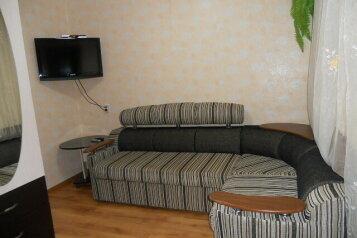 Коттедж, 35 кв.м. на 6 человек, 3 спальни, микрорайон 2, 1, Ольгинка - Фотография 1