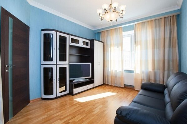 1-комн. квартира, 44 кв.м. на 4 человека, 1-я Спасская, 1к2, метро Тушинская, Москва - Фотография 1