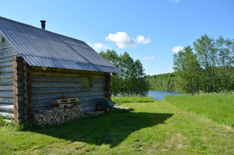 Дом на берегу озера в Карелии, 65 кв.м. на 4 человека, 2 спальни, деревня Кукшегоры, 1, Олонец - Фотография 17