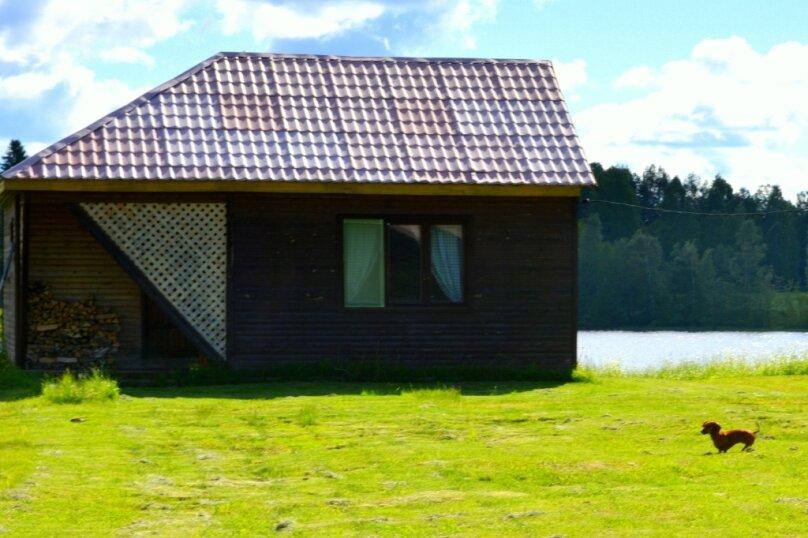 Дом на берегу озера в Карелии, 65 кв.м. на 4 человека, 2 спальни, деревня Кукшегоры, 1, Олонец - Фотография 18