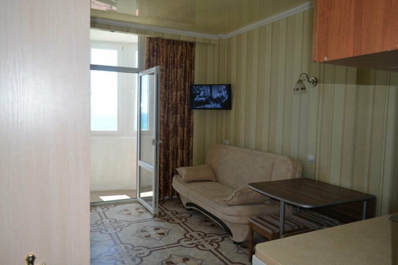 1-комн. квартира, 26 кв.м. на 4 человека, Южная улица, 62И, Мисхор - Фотография 4