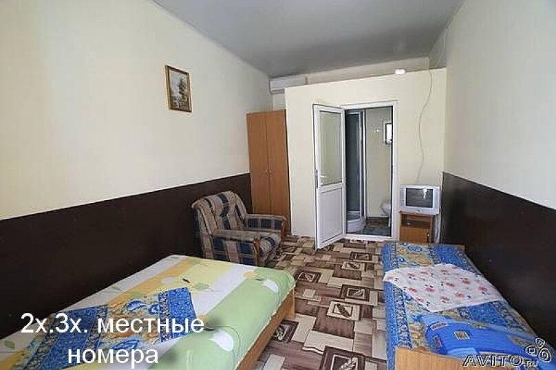 3х-местный (стандарт)+1 доп.место, улица Гагарина, 13, Витязево - Фотография 2