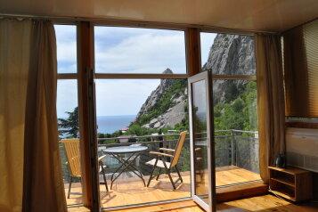 Часть дома. Панорамный люкс с балконом. на 2 человека, 1 спальня, улица Васильченко, 16, Симеиз - Фотография 2