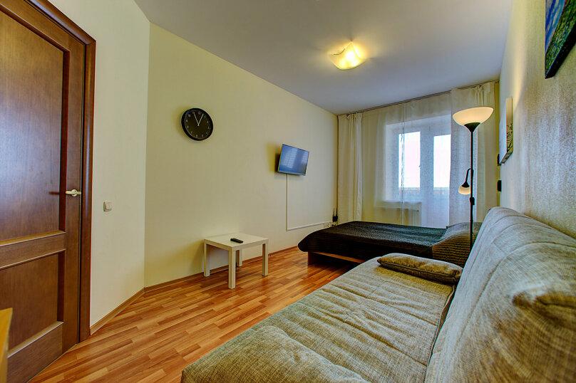 1-комн. квартира, 40 кв.м. на 4 человека, Коломяжский проспект, 15к9, метро Пионерская, Санкт-Петербург - Фотография 9