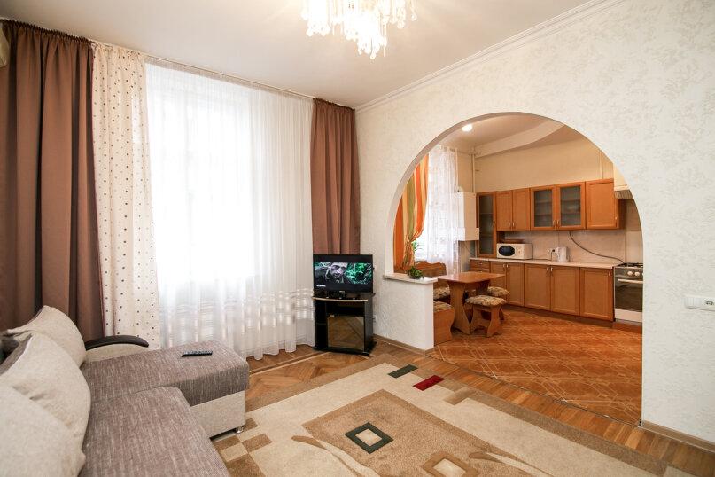 1-комн. квартира, 42 кв.м. на 4 человека, Гостенская улица, 34, Белгород - Фотография 1