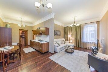 3-комн. квартира, 95 кв.м. на 6 человек, набережная реки Мойки, 28, Адмиралтейский район, Санкт-Петербург - Фотография 3