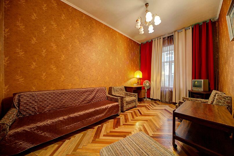 1-комн. квартира, 44 кв.м. на 3 человека, улица Жуковского, 18, Санкт-Петербург - Фотография 1