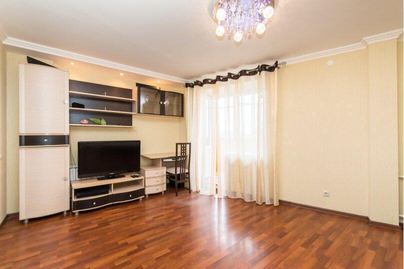 1-комн. квартира, 45 кв.м. на 3 человека, улица Хади Такташа, 41, Казань - Фотография 2