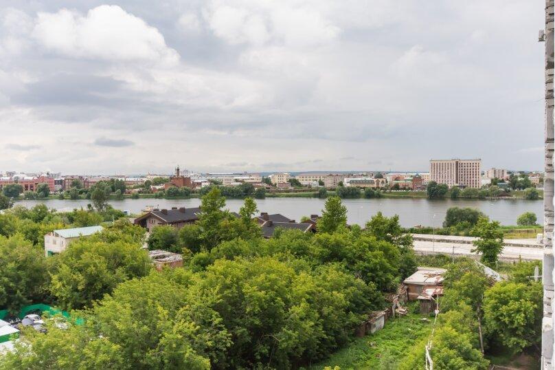 1-комн. квартира, 45 кв.м. на 3 человека, улица Хади Такташа, 41, Казань - Фотография 14