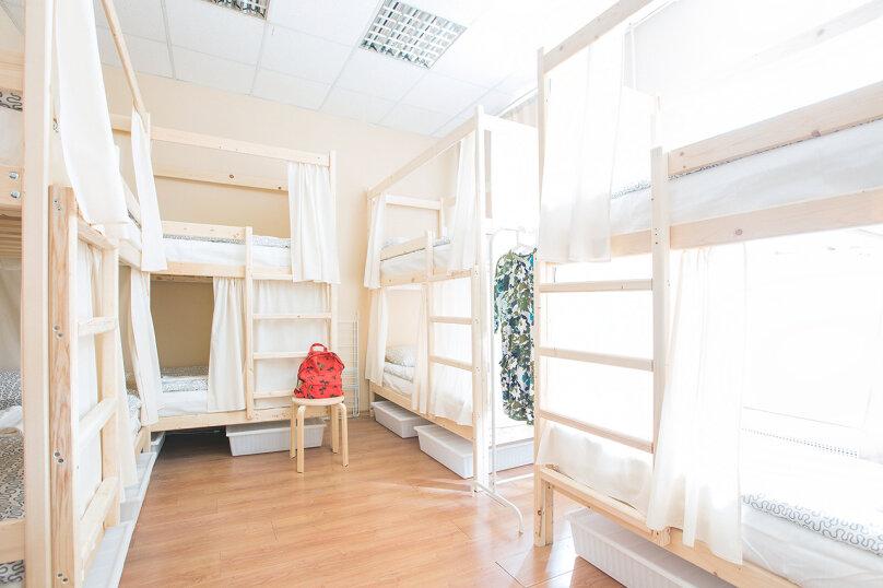 Кровать в общем смешанном номере на 8 человек, улица Восстания, 16, метро Невский пр., Санкт-Петербург - Фотография 2