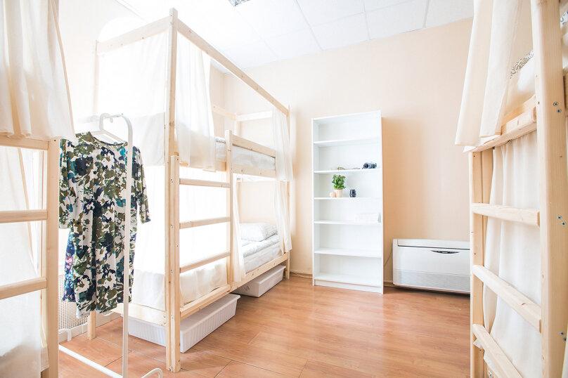 Кровать в общем смешанном номере на 8 человек, улица Восстания, 16, метро Невский пр., Санкт-Петербург - Фотография 3