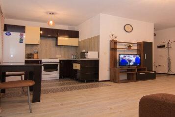 2-комн. квартира, 47 кв.м. на 4 человека, улица Некрасова, Железнодорожный округ, Хабаровск - Фотография 1